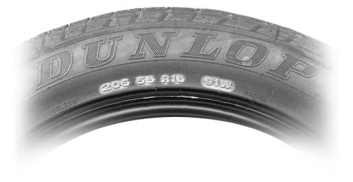 značení pneu